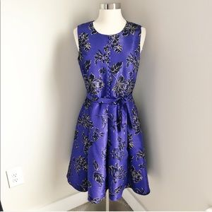 Oscar de la Renta Vintage Purple Cocktail Dress